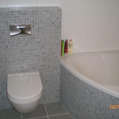 Badkamer met toilet Delft